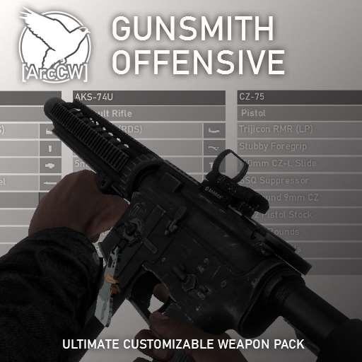 [ArcCW] Gunsmith Offensive