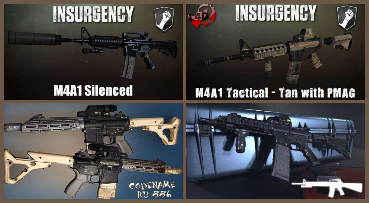 Left 4 Dead 2 — новые модели оружия — M4A1, CA-415, M4V5, Norinco QBZ-95, Ruger SR-556, H&K 33 | Left 4 Dead 2 моды