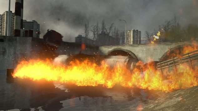 HL2:MMod Explosion & Fire Particles