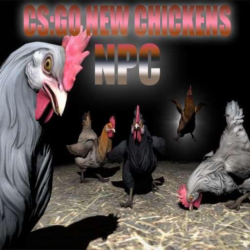 CS:GO NEW Chicken [NPC] | Garrys mod моды