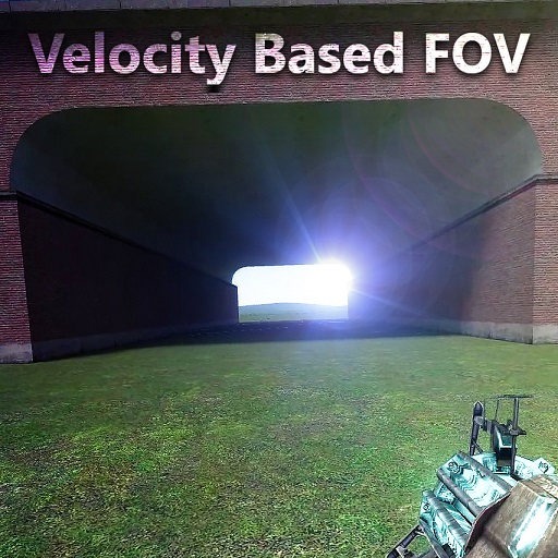 Velocity Based FOV | Garrys mod моды