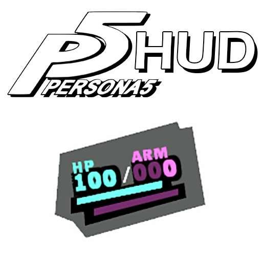 Persona 5 Stylized HUD | Garrys mod моды
