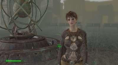 Fallout 4 — Новая внешность Кейт (для CBBE) | Fallout 4 моды