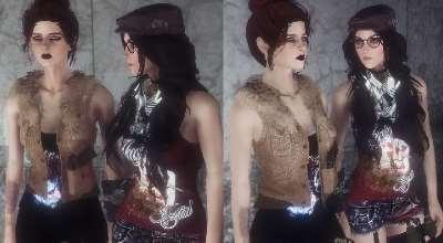 Fallout 4 — 3 наряда для девушек (CBBE)   Fallout 4 моды