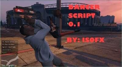 GTA 5 — Танцы (Dance Script) | GTA 5 моды