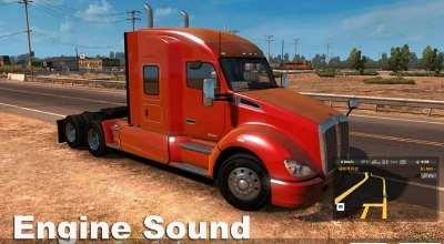 ATS — Изменение звуков двигателя | American Truck Simulator моды