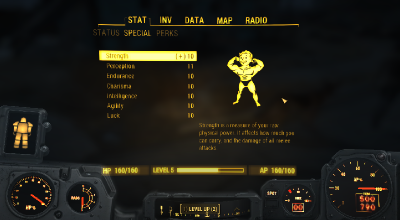 Fallout 4 — Максимальное значение всех характеристик | Fallout 4 моды