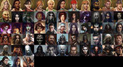 Divinity: OS — Набор новых иконок персонажей | Divinity: Original Sin моды