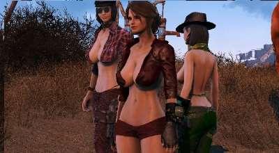 Fallout 4 — Короткий наряд Пайпер | Fallout 4 моды