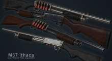 Fallout NV — M37 Ithaca | Fallout New Vegas моды