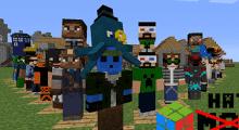 Minecraft — iChun's Hats / Шляпы для 1.7.10/1.7.2/1.6.4/1.5.2 | Minecraft моды