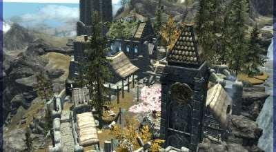Skyrim — Новое поселение Эмбергвард (+ дом для игрока) | Skyrim моды