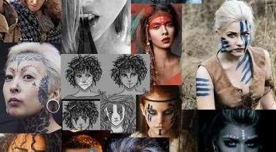 Skyrim — Новая боевая раскраска и тату | Skyrim моды