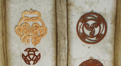 Skyrim — Настенные корзины в Скандинавском стиле | Skyrim моды