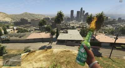 GTA 5 — Cannabis Energy Drink Molotov | GTA 5 моды