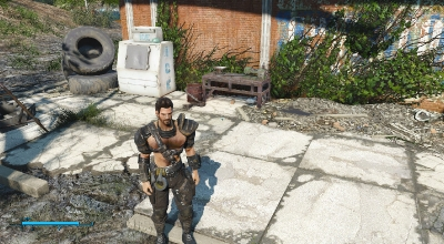 Fallout 4 — Мужественные кожаные доспехи | Fallout 4 моды