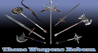 Skyrim — Возрождение оружия Тана | Skyrim моды