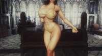 Skyrim — Новое тело для девушек «Прикосновение Дибеллы» | Skyrim моды