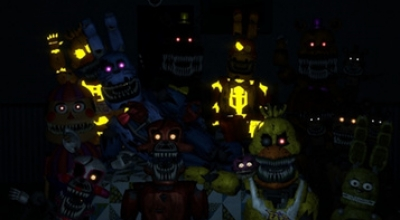 Garrys mod 13 — Nightmare Animatronics Playermodel | Garrys mod моды