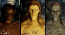 Skyrim — Male Face Textures | Skyrim моды