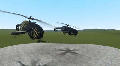 Garrys mod — NPC Lambda Chopper Rebel Hunter Chopper (Вертолёт-Повстанцев)