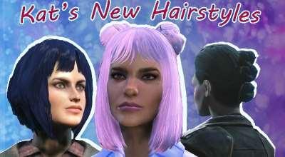 Fallout 4 — Новые Причёски | Fallout 4 моды