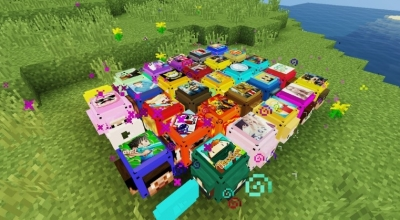 Лаки блок ютуберов для Minecraft 1.10.2 / 1.8 | Minecraft моды