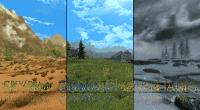 Skyrim — Изменение климата: лето, тропики и зима | Skyrim моды