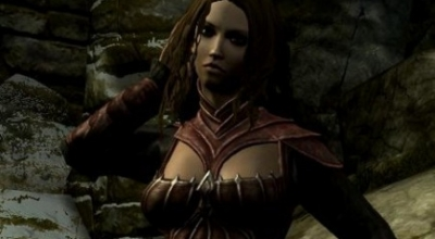 Skyrim — адаптация Dawnguard брони под UNP тела | Skyrim моды