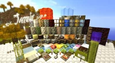 Minecraft 1.8-1.9 текстуры 32×32 SummerFields | Minecraft моды