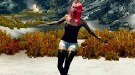 Skyrim — танцуют все!   Skyrim моды