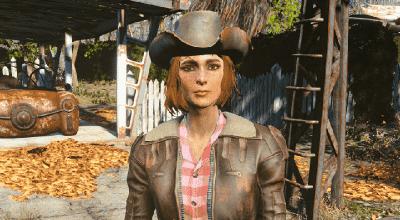 Fallout 4 — Одежда Кэсс | Fallout 4 моды