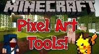 Minecraft — Pixel Art Tools для 1.7.10 | Minecraft моды