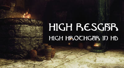 Skyrim — HD Высокий Хротгар | Skyrim моды