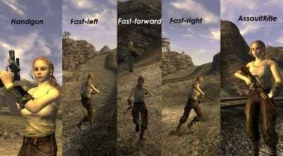 Fallout New Vegas — Новая анимация бега с оружием | Fallout New Vegas моды