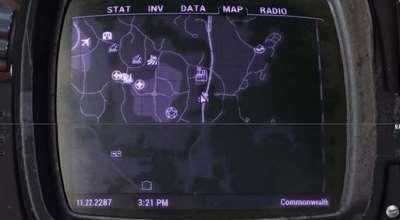 Fallout 4 — Улучшенная карта с дорогами | Fallout 4 моды