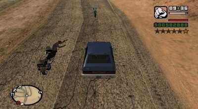 GTA San Andreas — Перепрыгни с мотоцикла на машину! | GTA San Andreas моды