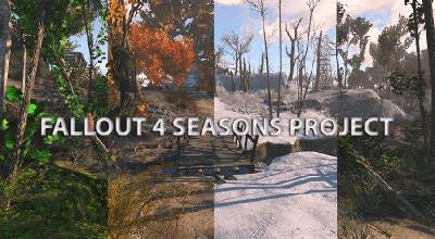 Fallout 4 — Времена года | Fallout 4 моды