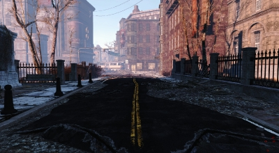 Fallout 4 — Реалистичные дороги | Fallout 4 моды