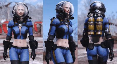 Fallout 4 — Экипировка и оружие Ядер-Кола (CBBE) | Fallout 4 моды