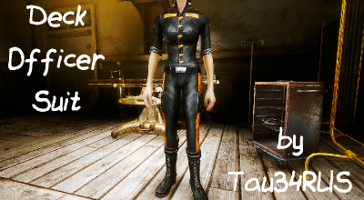 Fallout NV — Костюм офицера (Deck Officer Suit) | Fallout New Vegas моды