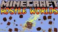 Minecraft — Hostile Worlds / Вторжения врагов для 1.7.10/1.6.4/1.5.2 | Minecraft моды