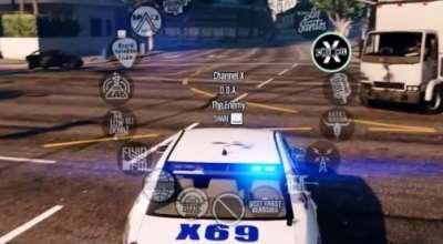 GTA 5 — Радио в полицейских машинах | GTA 5 моды