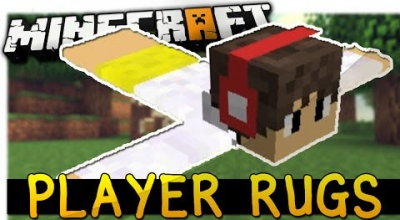 Minecraft — Ковры из игроков | Minecraft моды