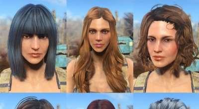 Fallout 4 — 47 новых причесок для девушек и мужчин | Fallout 4 моды