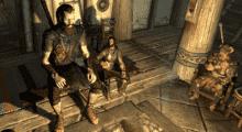 Skyrim — Играбельная раса Гигантов | Skyrim моды