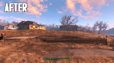Fallout 4 — Удаляем мусор и др. объекты в поселении | Fallout 4 моды