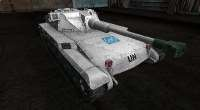 World Of Tanks — ELC AMX Белая шкурка | World Of Tanks моды