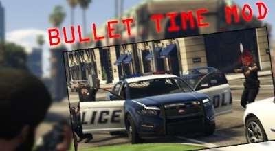 GTA 5 — Замедление времени (Bullet Time Mod) | GTA 5 моды