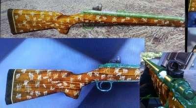 Fallout 4 — Охотничья винтовка ветерана | Fallout 4 моды